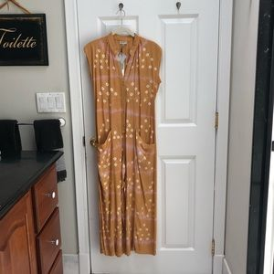 a9c1d18e91b57 Anthropologie Pants - The Odells Anthropologie Claudia Yellow Jumpsuit